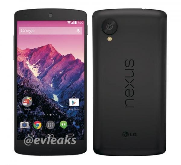Nexus 5 evleaks