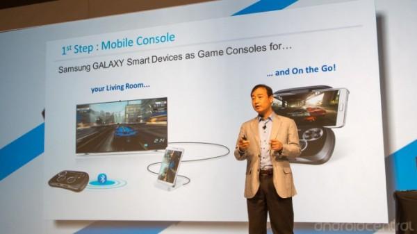 Samsung Developer Conference - gamepad