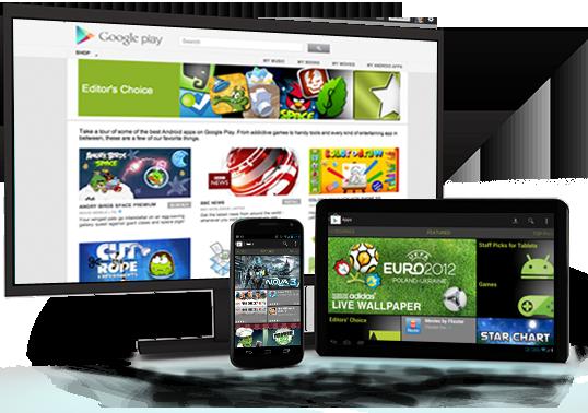 Aplikace Android na Google Play
