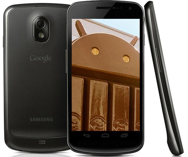 Galaxy Nexus Kitkat