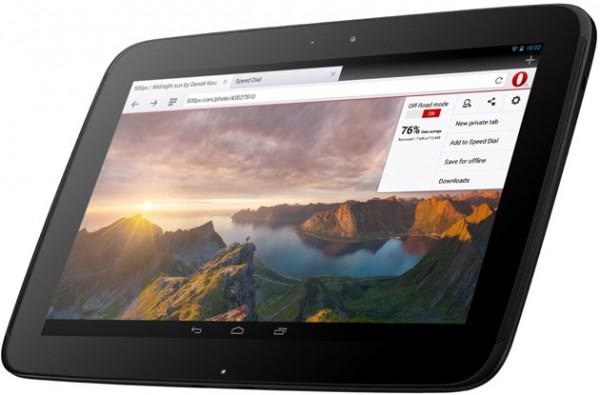 opera tablet