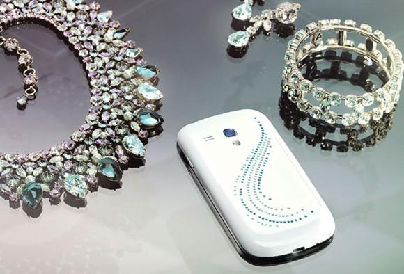 Samsung Galaxy S3 mini v luxusní edici Crystal