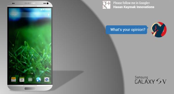 Samsung Galaxy S5 koncept1