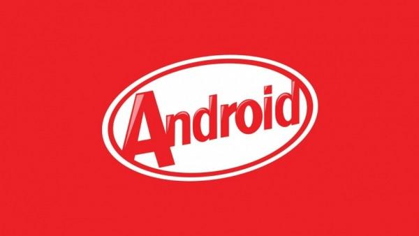 android kitkat big logo