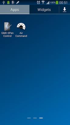 GMD Air Command Shortcut