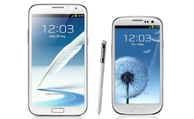 Galaxy S3 vs Note 2