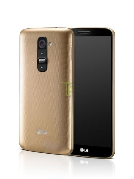 LG G2 zlaty