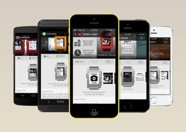 Pebble apps