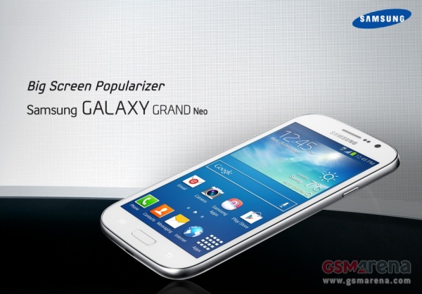 Samsung galaxy grand neo leak