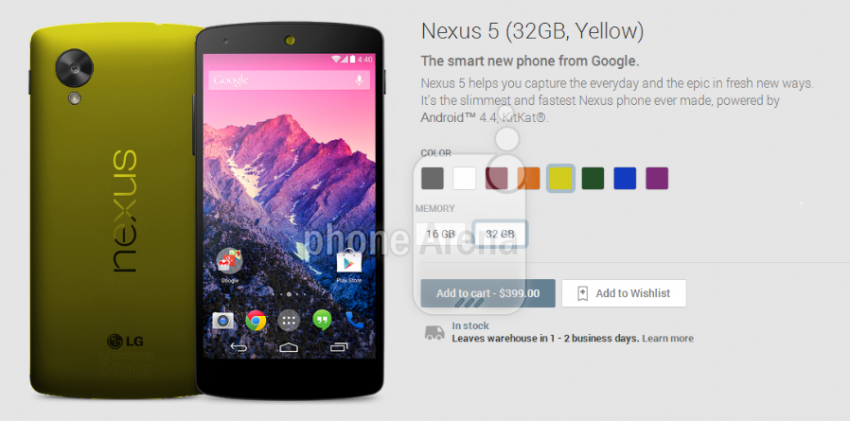 nexus 5 new color 1