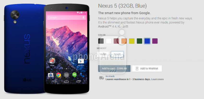 nexus 5 new color 2