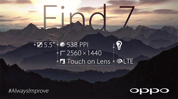 Oppo Find 7 teaser 2