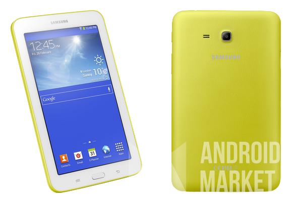 Samsung Galaxy Tab 3 7.0 Lite zluta