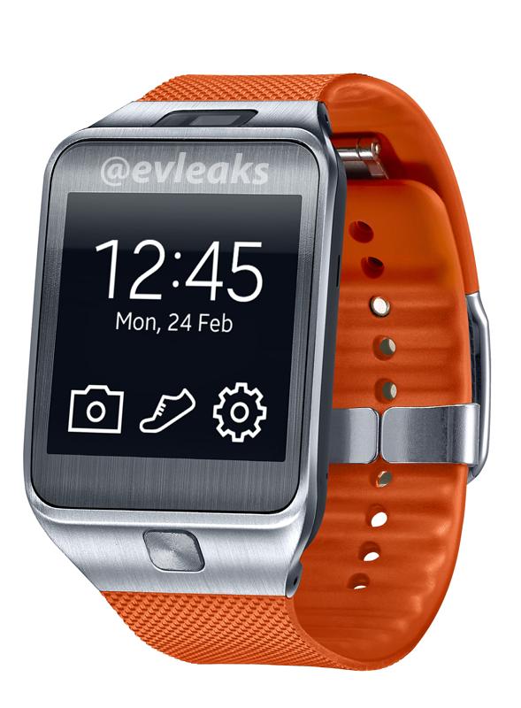 Samsung Gear - oranžové