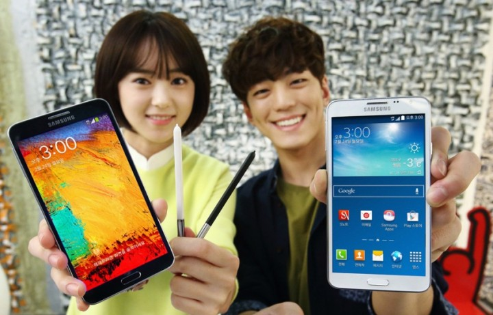 Galaxy Note 3 Neo - jihokorejska verze