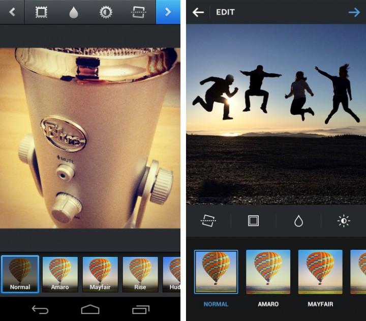 Instagram redesign 2