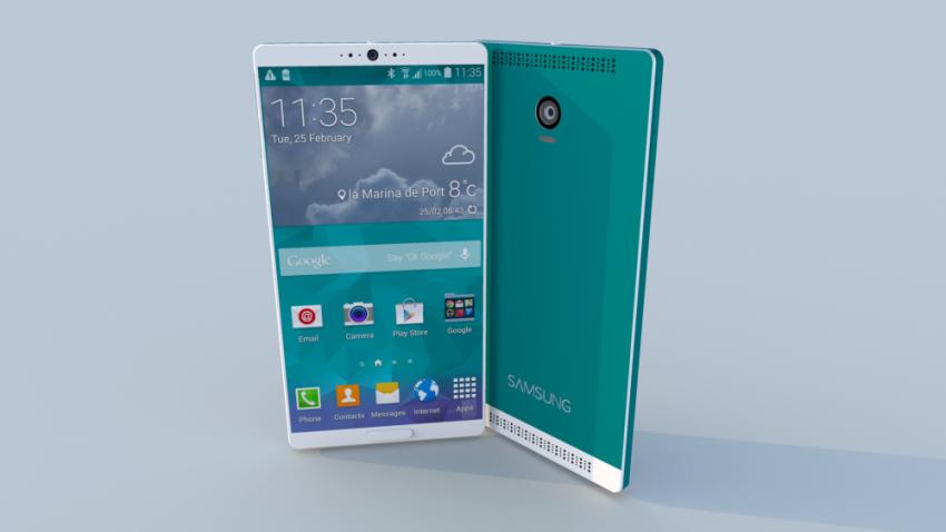 Samsung Galaxy S6 - Android 4.5, 64bitové osmijádro, 4GB RAM a 128 GB [KONCEPT]