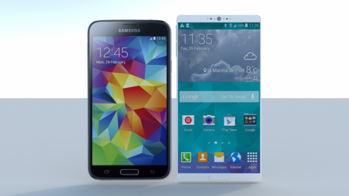 Samsung Galaxy S6 koncept