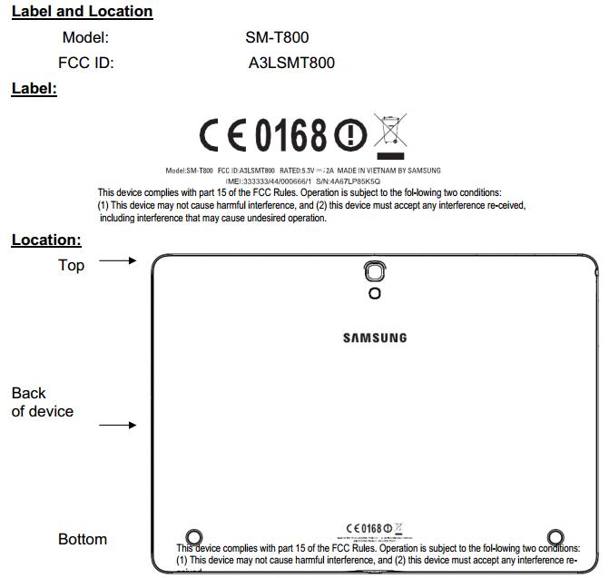 Samsung-SM-T800-FCC