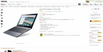 Chromebook Acer Amazon