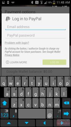 Google Play - PayPal1
