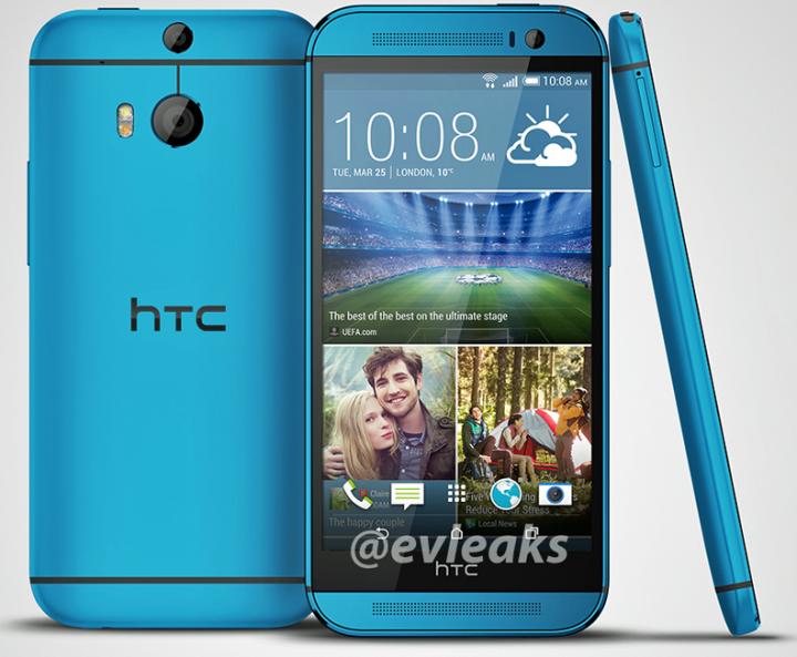 HTC One M8 blue