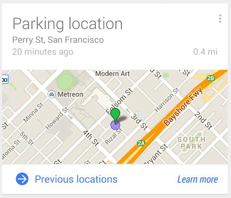google parkovani