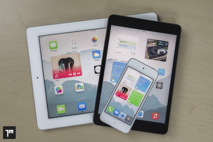 widgety iOS8