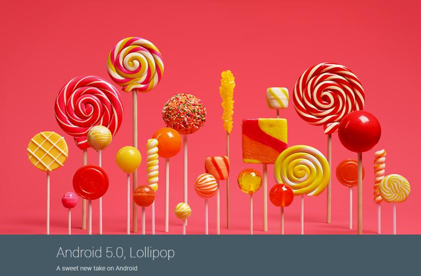 Videopředstavení Androidu 5.0 Lollipop