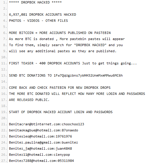 Dropbox-passwords-on-Pastebin