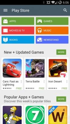 Google Play 5_0 material design