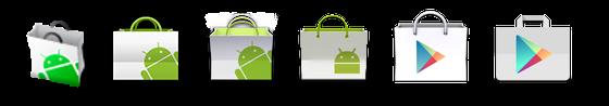 Google play icon evolution