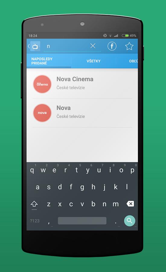 Aplikace Televize v mobilu - opět funkční a v nové grafice
