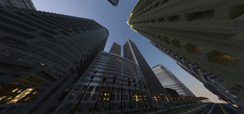 Titan City - prohlídka města, které vznikalo v Minecraft 2 roky