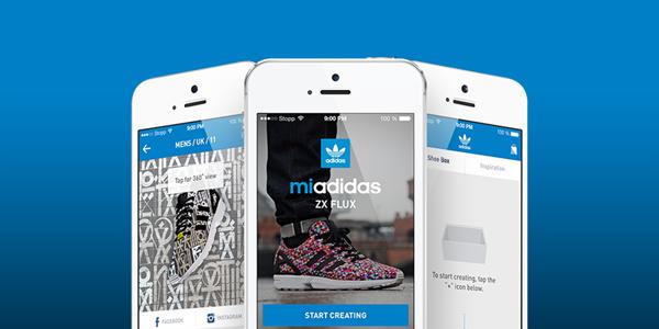 Aplikace Adidas pro Android vám umožní vybrat vlastní potisk tenisek