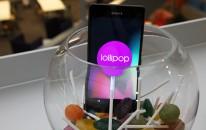 Sony Xperia Z2 a Z3 se dočkají Lollipopu na začátku příštího roku