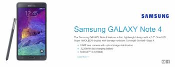 CORNING GORILLA GLASS  Samsung GALAXY Note 4
