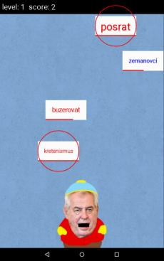 Milos Zeman hra