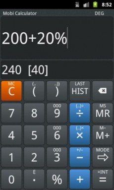 Mobi Calculator PRO 1