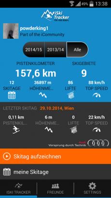 iSki Tracker1