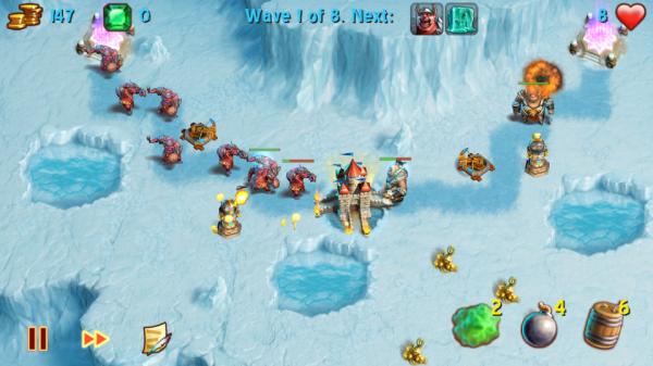 Screenshot 2012 05 29 17 45 051 600x337 Towers N Trolls povedená tower defense