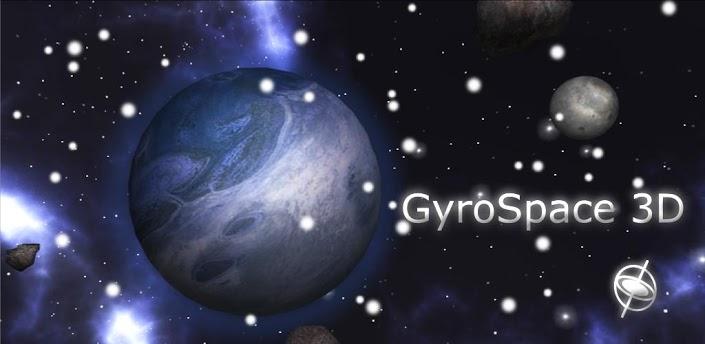 GyroSpace 3D – povedená živá tapeta s planetami