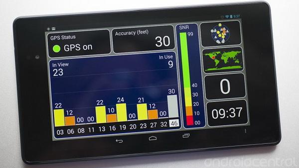 Nový Nexus 7 má problémy s příjmem GPS signálu
